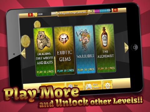 Winter-Fell Slots Throne Casino of Riches 777 - FREE Slot Machine Game screenshot 10