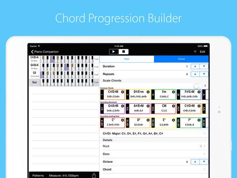 Piano Companion PRO: chords screenshot 7