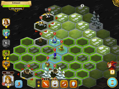Crowntakers - The Ultimate Strategy RPG screenshot 9