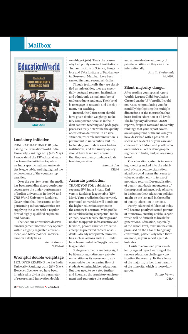 Education World Magazine screenshot 2