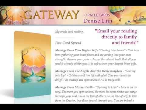Gateway Oracle Cards - Denise Linn screenshot 6