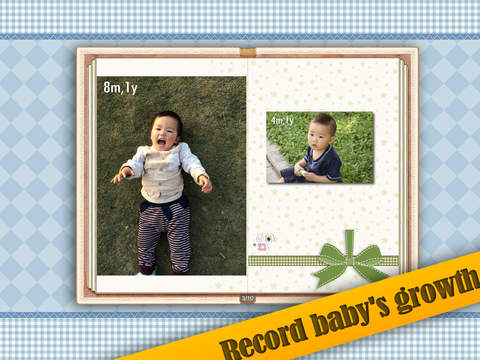 Baby Album Free for iPad screenshot 2