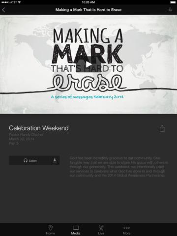 Constance Free Church App screenshot 6