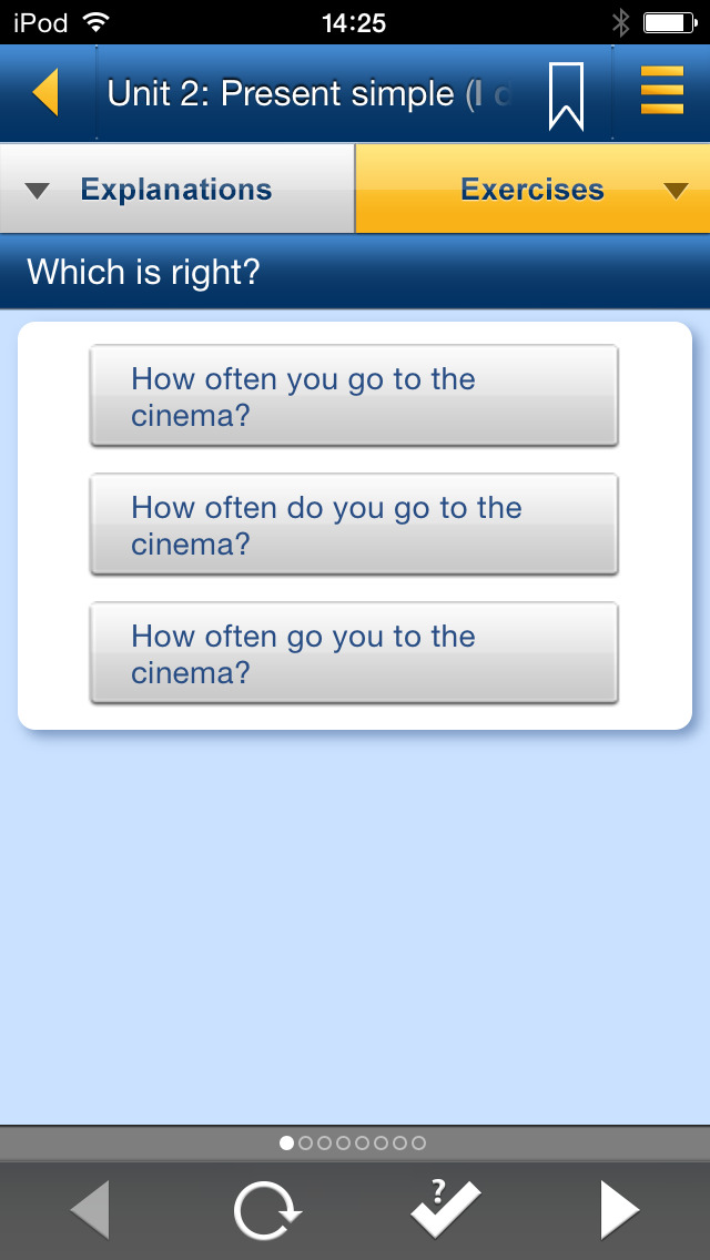 English Grammar in Use – Full screenshot 4