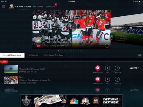 NBC Sports screenshot 6