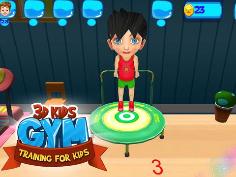 3D Kids Gym Training for kids screenshot 7