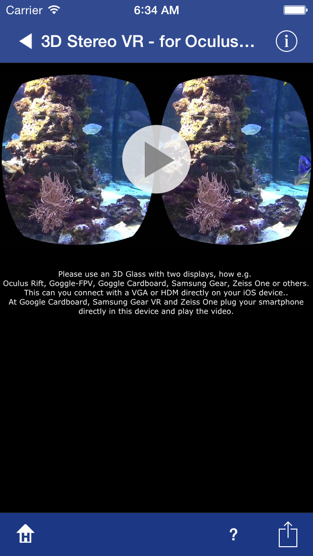 3D SBS Stereo for Cardboard screenshot 3
