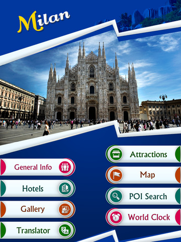 Milan Offline Travel Guide screenshot 7