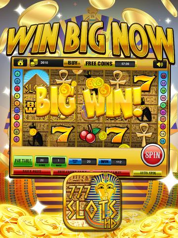 Ace Slots Pharaoh's Gold - Jackpot Kingdom Journey Slot Machine Games Free screenshot 10