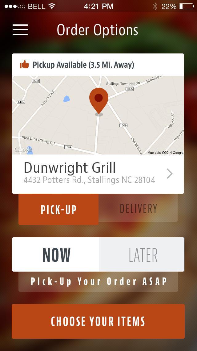 Dunwright Grill screenshot 2