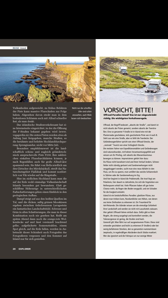 EXPLORER Magazin screenshot 4
