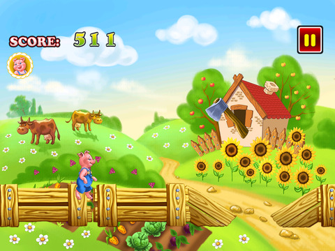 Happy Pig Run screenshot 4