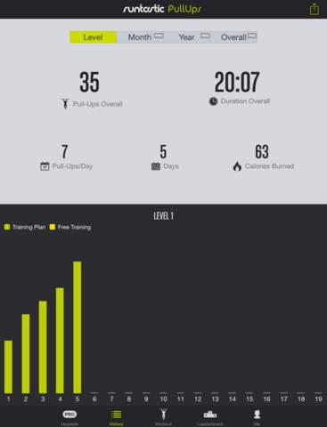 Pull-Ups Workouts & Trainer screenshot 8