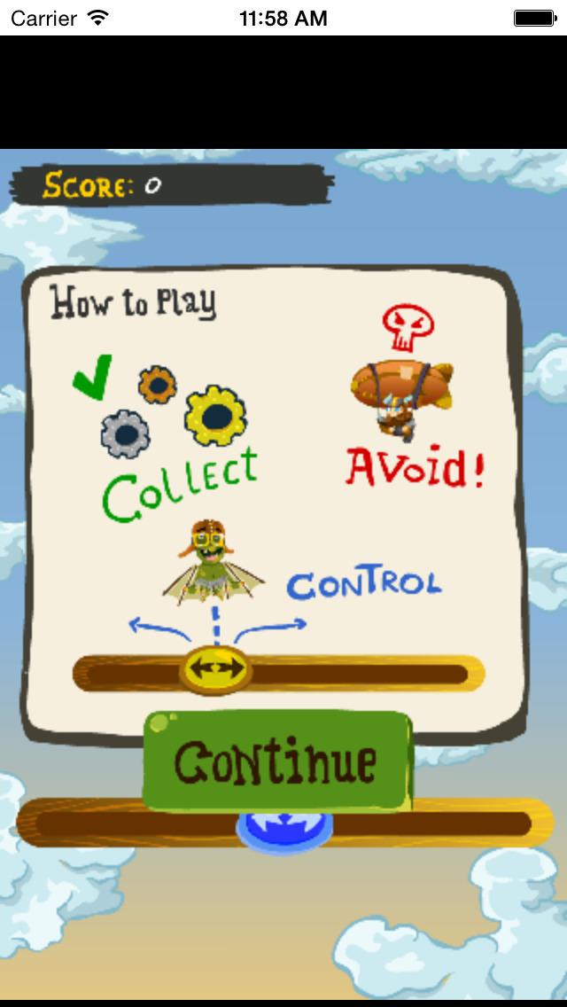 Goblin Flying Machine Free Game!!! screenshot 3