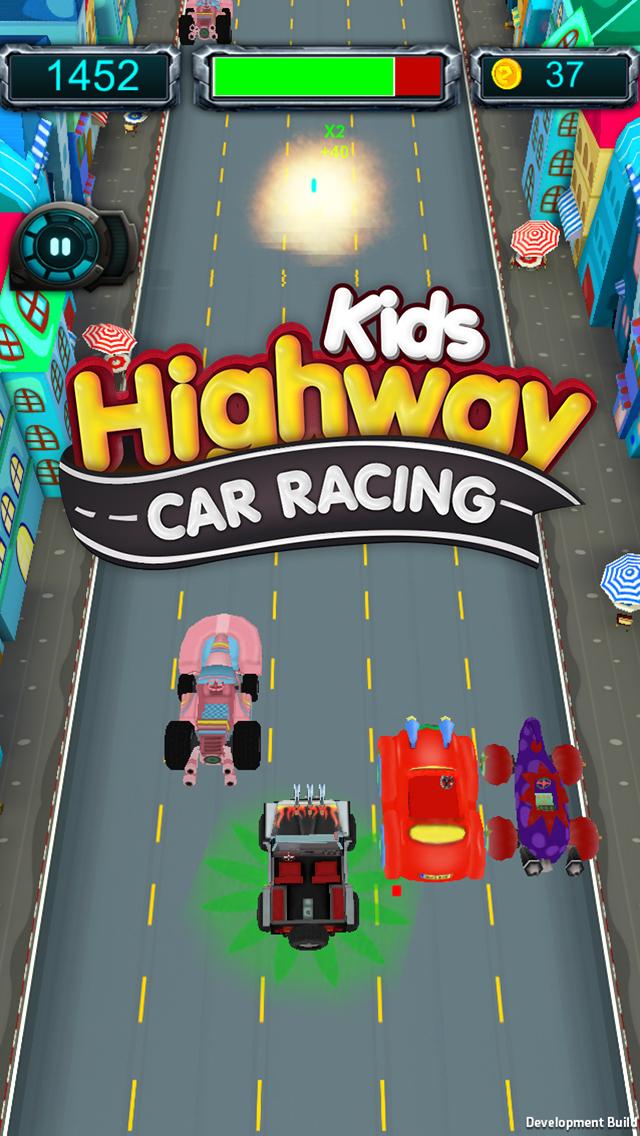 Kids Highway Car Racing screenshot 3