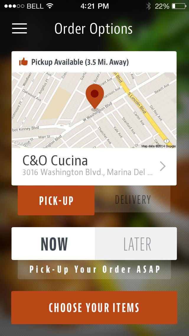 C&O Cucina screenshot 2