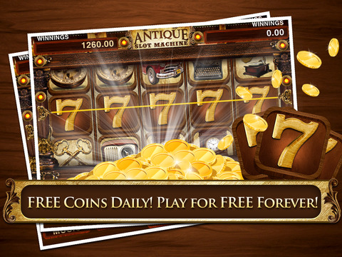 Antique Slots Classic Casino Simulation 777 Machines Free screenshot 5