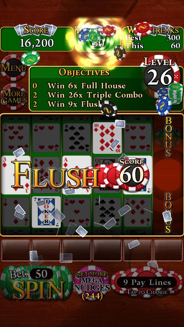 Poker Slots Deluxe screenshot #5