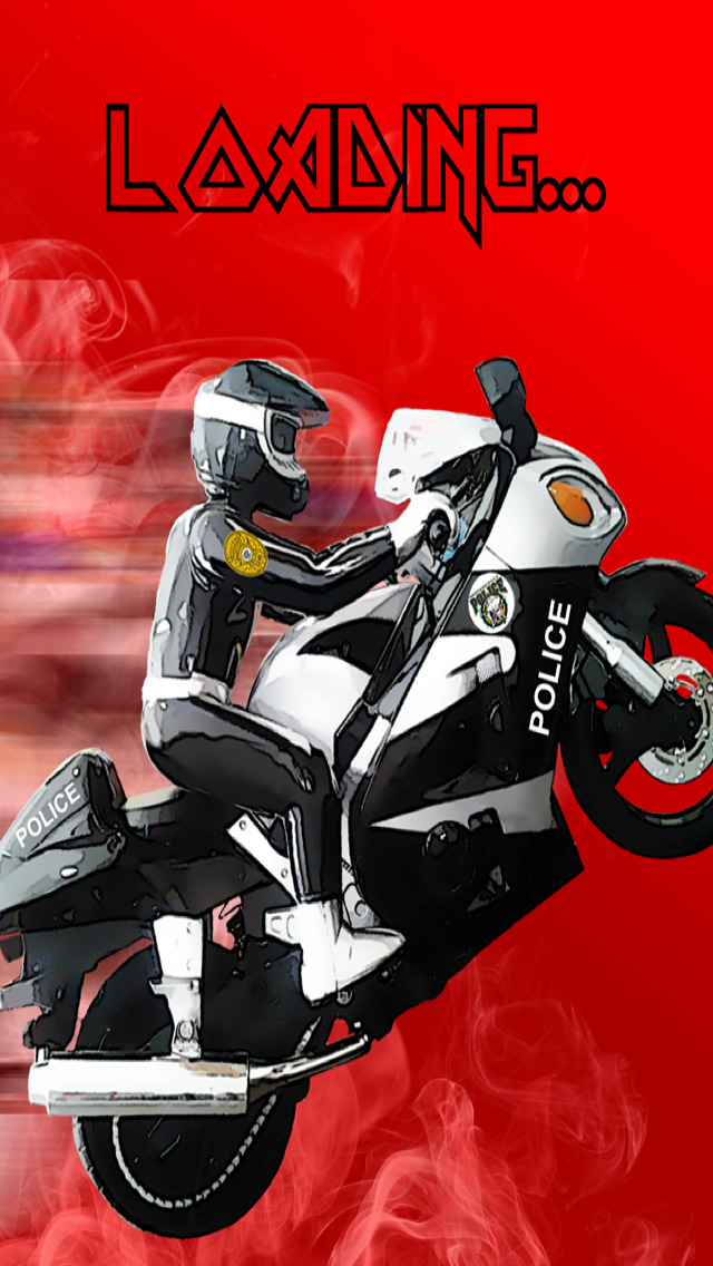 A Motorcycle Police Chase Race Track Game PRO screenshot 1