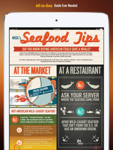 Seafood 101: Wise Choosing Guide with Video Lessons and Insider Tips screenshot 7