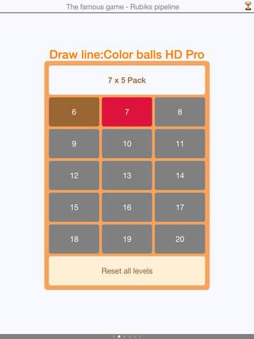 Draw line: Color balls HD - Game of more than 200 IQ screenshot 1