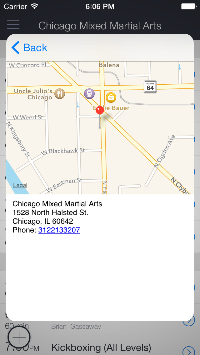 Chicago Mixed Martial Arts screenshot 3
