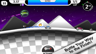 Lunar Racer screenshot 2
