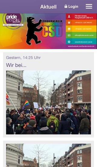 Förderverein Hauptstadt CSD screenshot 1