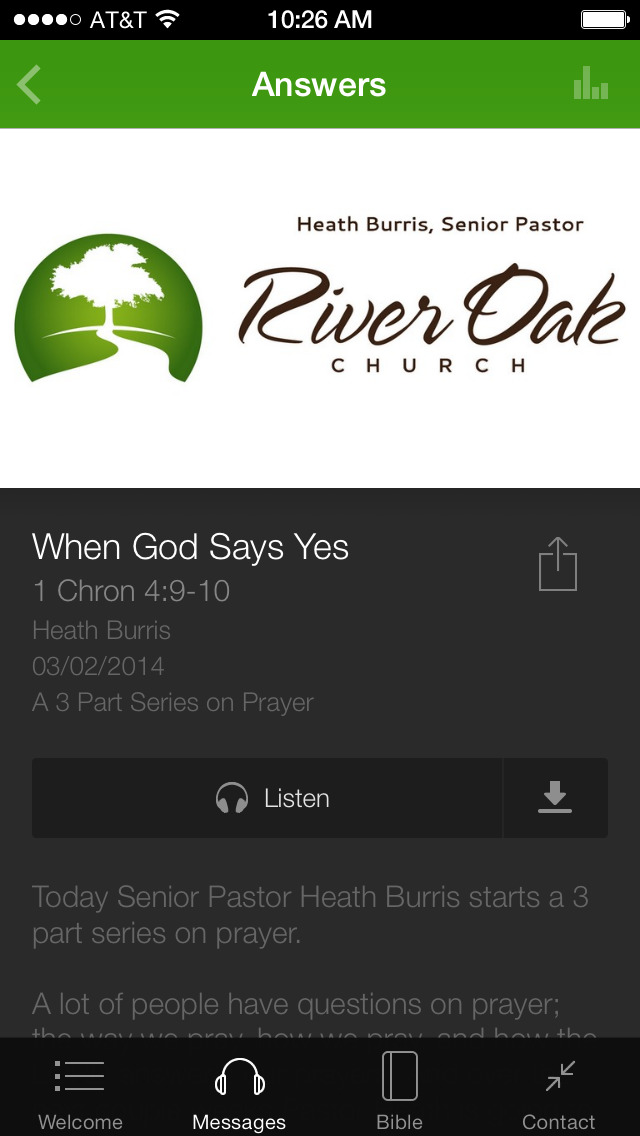 The River Oak Church App screenshot 3
