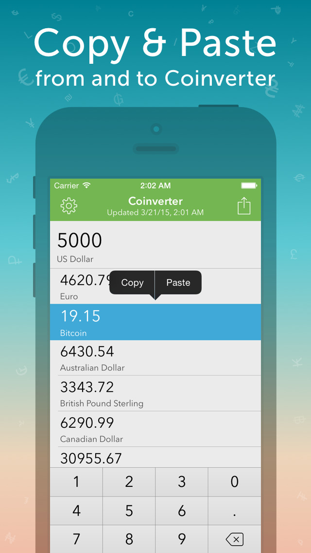 Coinverter screenshot 3