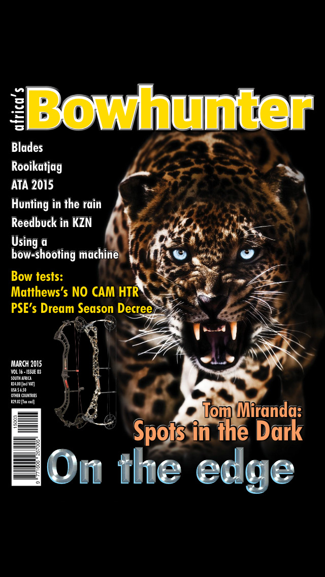 Africa's Bowhunter Magazine screenshot 1