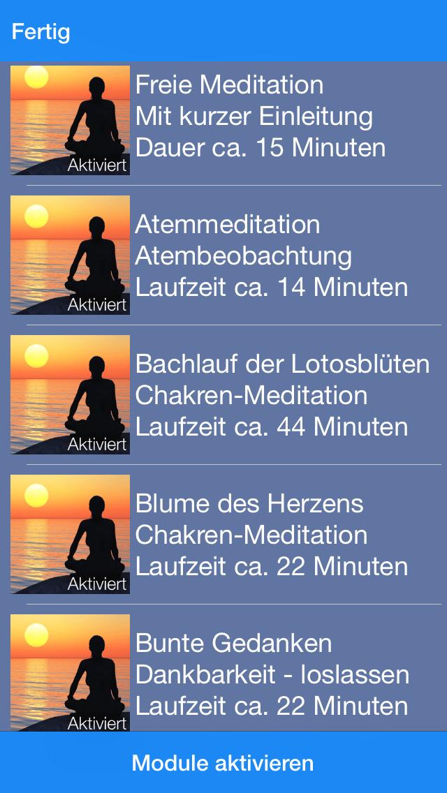 Meditation für innere Ruhe screenshot 2