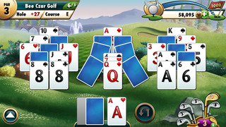Fairway Solitaire by Big Fish screenshot 2