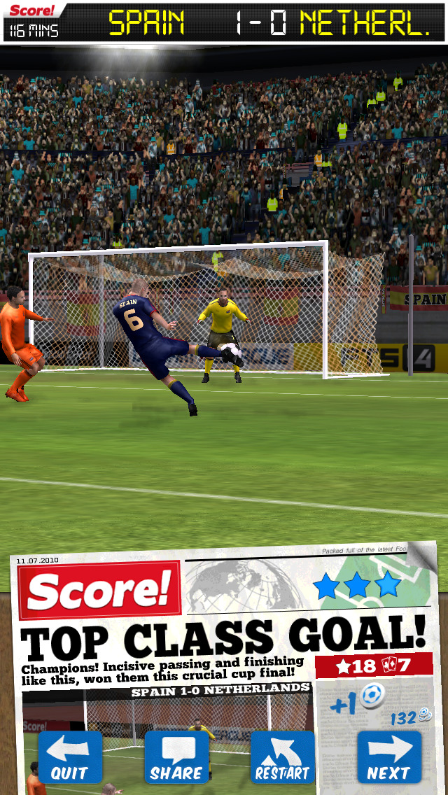 Score! World Goals screenshot #1