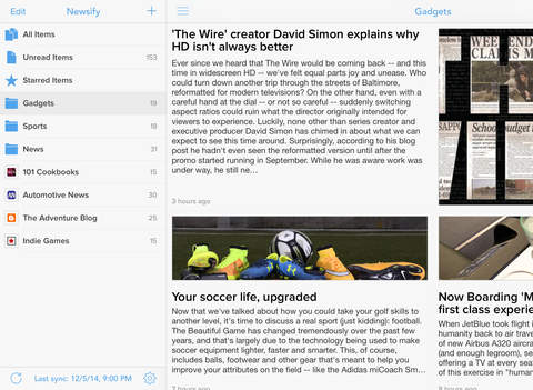 Newsify: RSS Reader screenshot 8