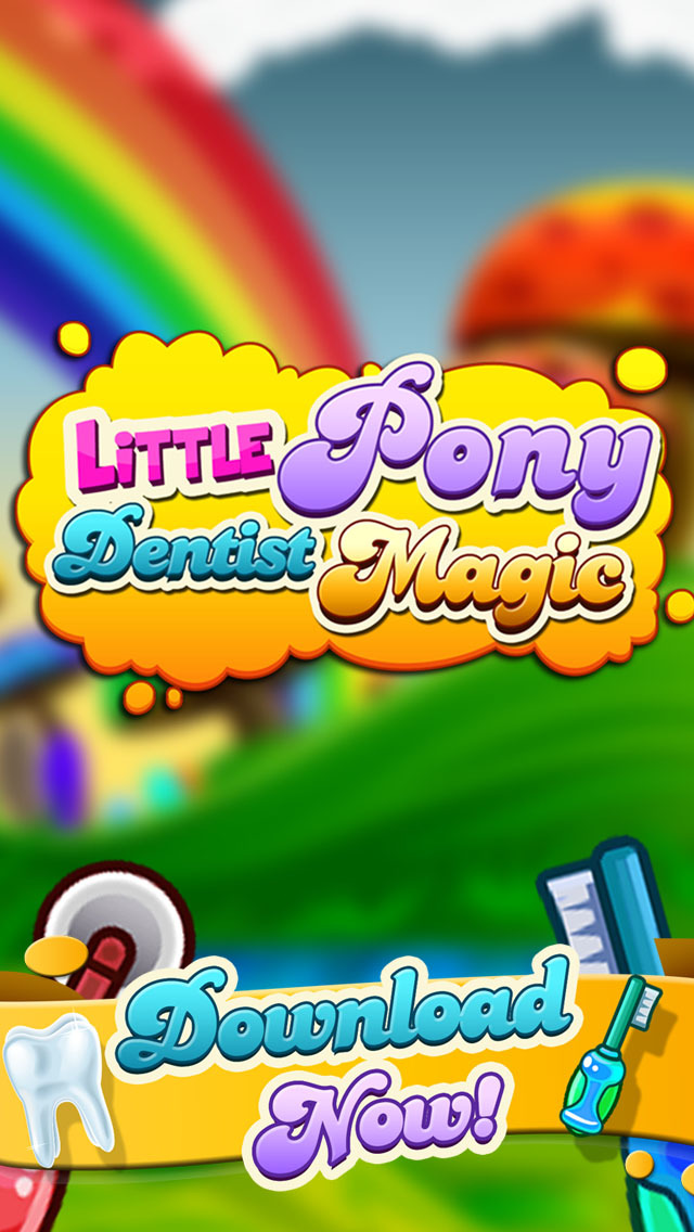 ' A Little Pony Dentist Magic Tooth Doctor - Teeth Fixer Game screenshot 1