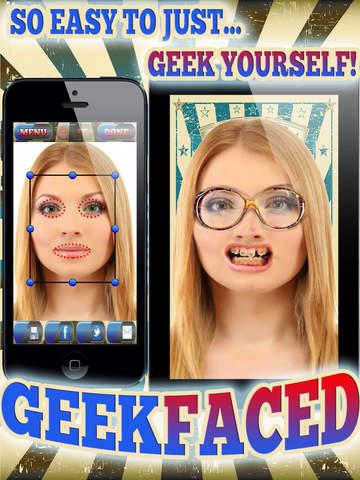 GeekFaced - The Geek & Nerd Photo FX Face Booth screenshot 7