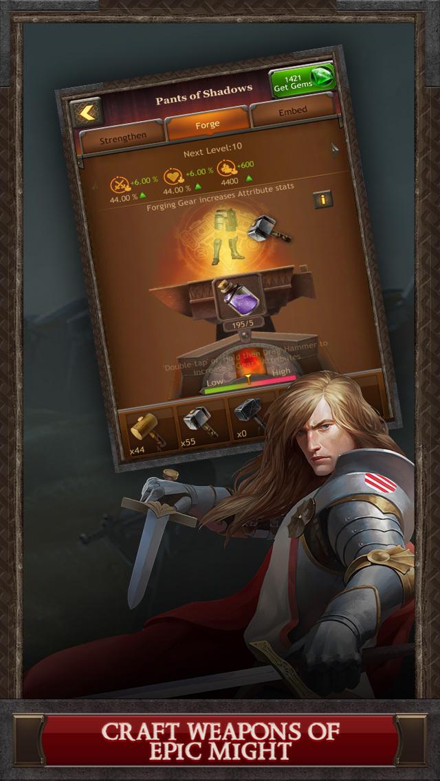 Kingdoms of Camelot: Battle screenshot 3