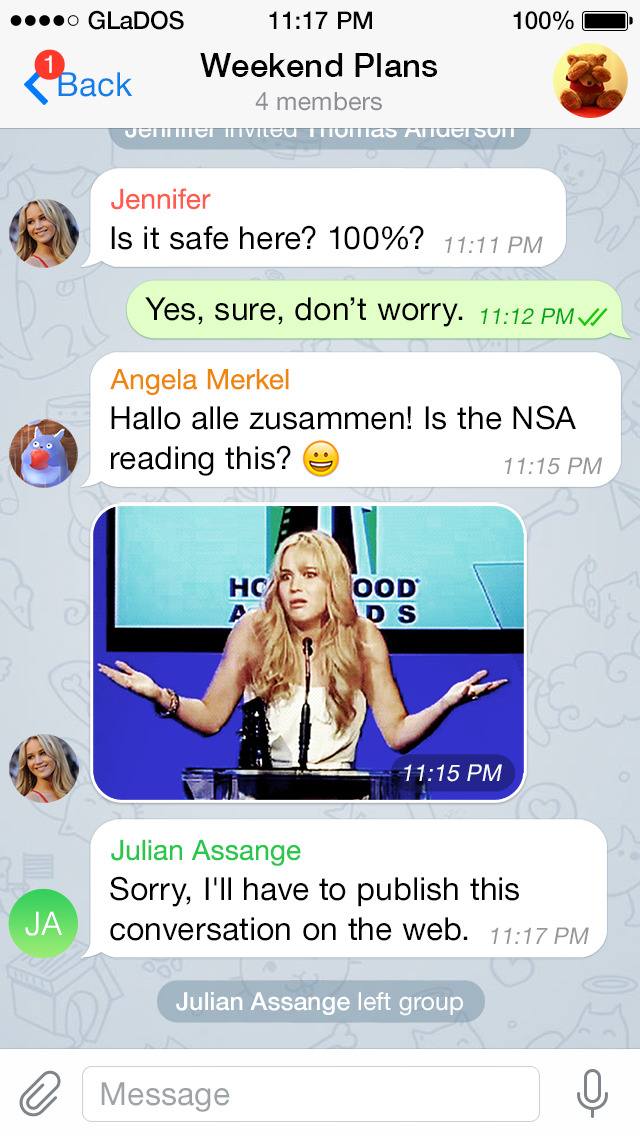 Telegram Messenger screenshot 3