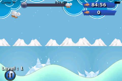 Polar Bear Snow Ski Jumping - Ting Winter Sled - náhled