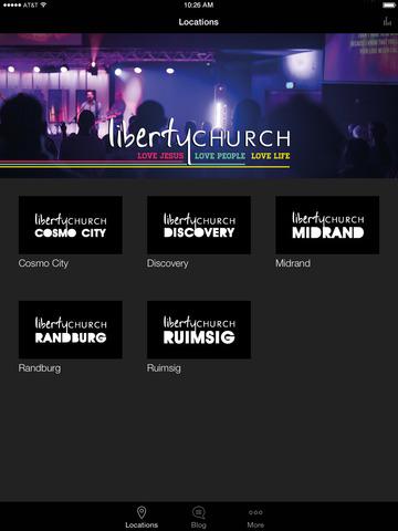 Liberty Church App screenshot 4