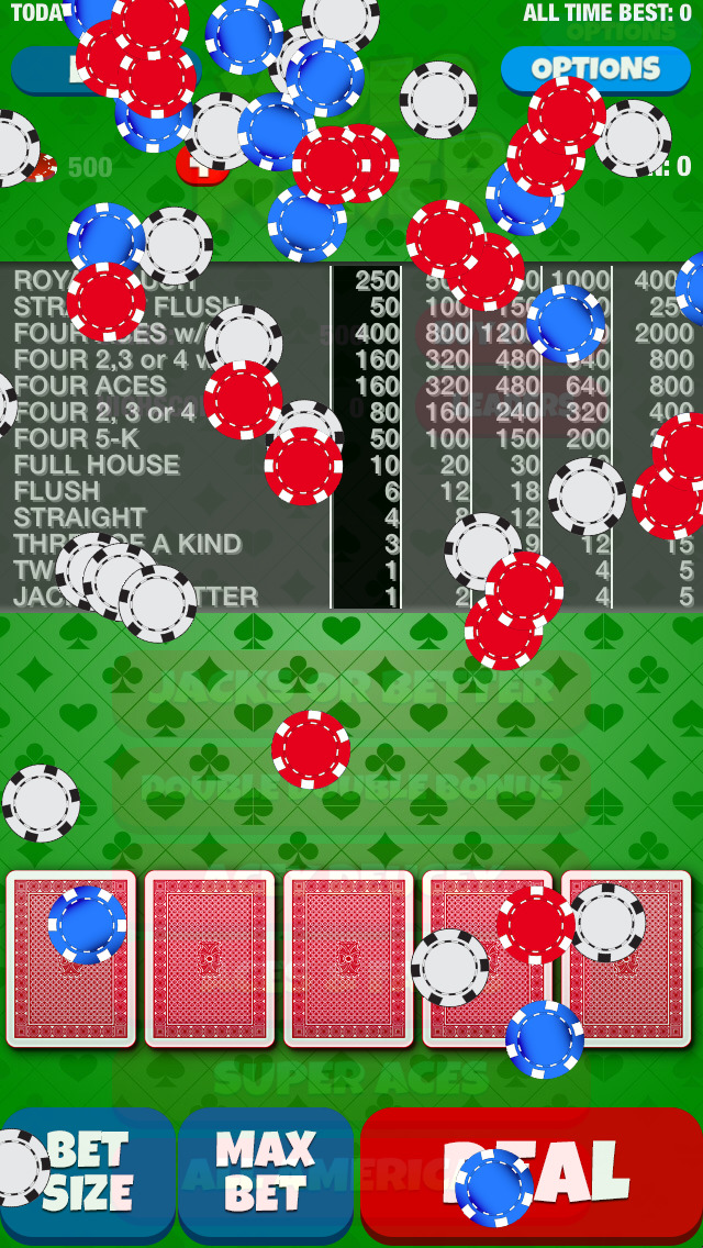A Video Poker Casino Game screenshot 2