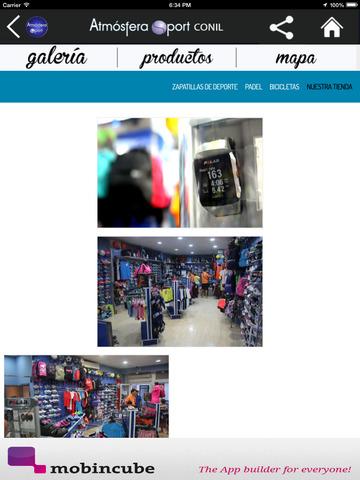 Atmósfera Sport Conil - Tu tienda de productos deportivos screenshot 6