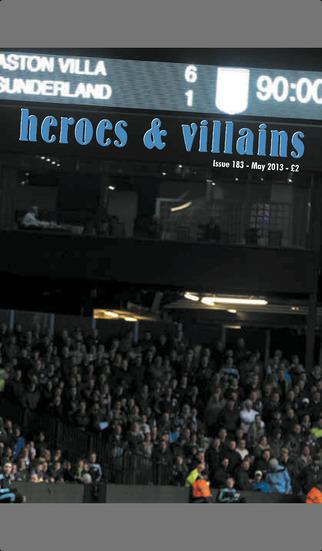 Heroes & Villains Fanzine screenshot 1