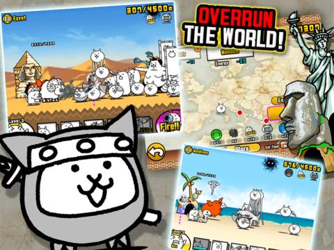 The Battle Cats screenshot #4
