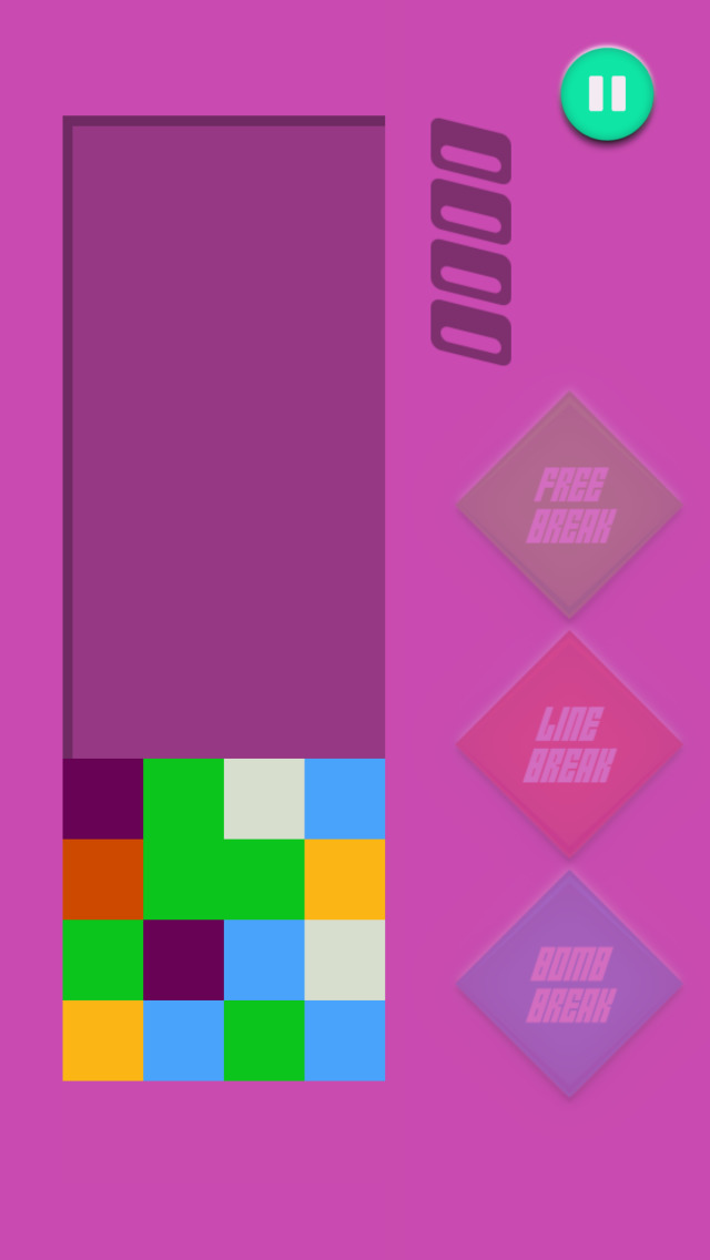 Crack & Pop Tile - Connect And Match Three Square Colors screenshot 4