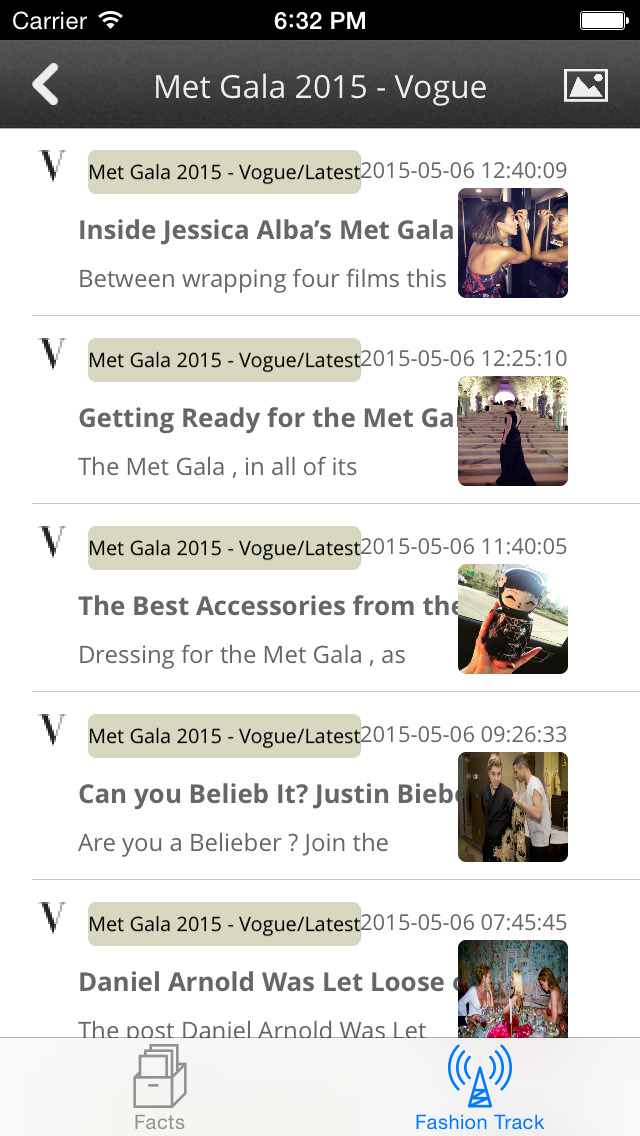 Fashion Insiders: News Hub for Met Gala and Celebrity Fashion Guide 2015 screenshot 3