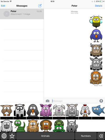 Animal Keyboard Stickers: Chat with Animal Icon on Your Message and more screenshot 6