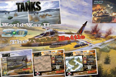 Tanks of World War II: 3D Simulator - náhled