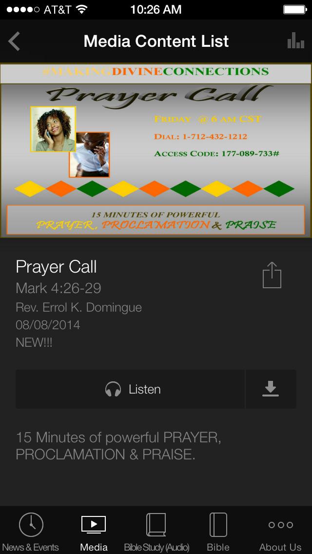 Elm Grove Baptist Church screenshot 3